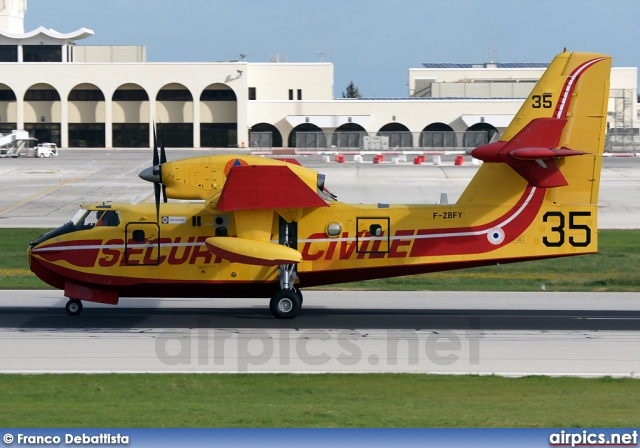 F-ZBFY, Canadair CL-215, French Department of Civil Defence and Emergency Preparedness