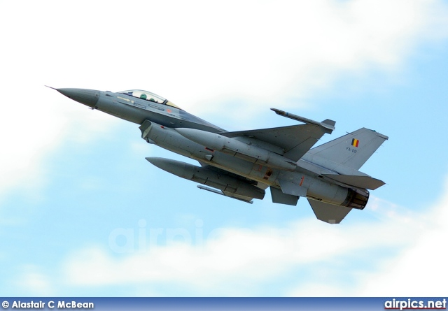 FA118, Lockheed F-16AM Fighting Falcon, Belgian Air Force