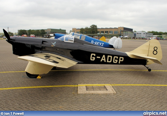 G-ADGP, Philips and Powis Miles M.2L Hawk Speed Six, Private