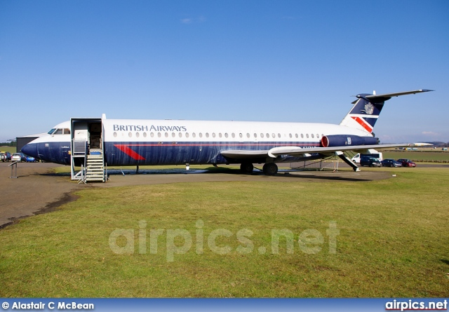 G-AVMO, BAC 1-11 510ED, British Airways