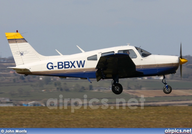 G-BBXW, Piper PA-28-151 Cherokee Warrior, Private