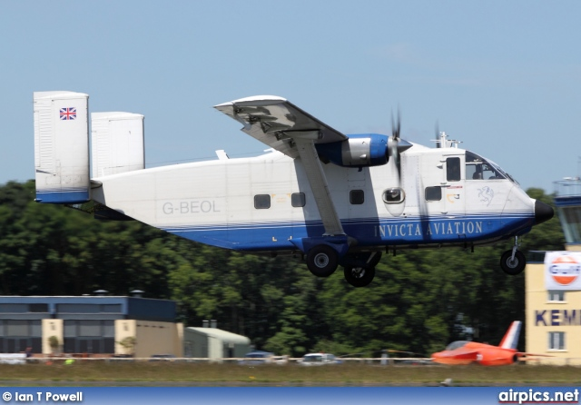 G-BEOL, Shorts SC-7-3 100 Skyvan, Invicta Aviation
