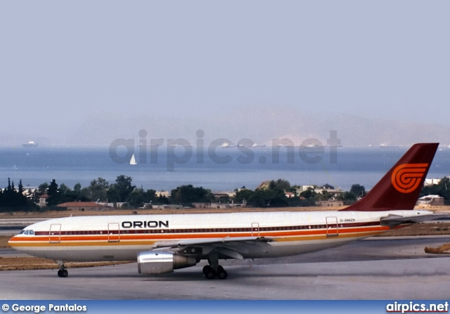 G-BMZK, Airbus A300B4-200, Orion Airways