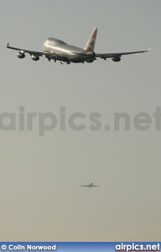 G-BNLF, Boeing 747-400, British Airways