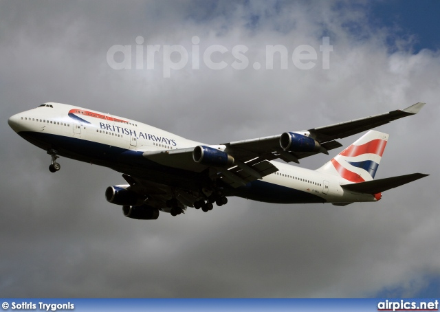G-BNLL, Boeing 747-400, British Airways