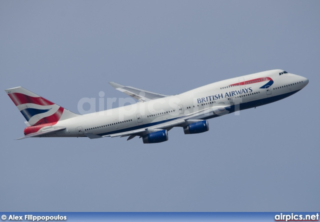 G-BNLY, Boeing 747-400, British Airways