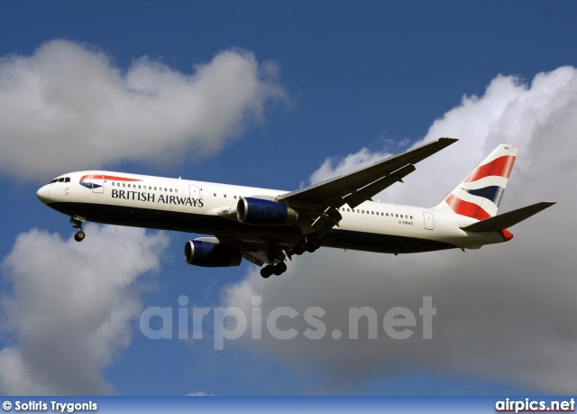 G-BNWD, Boeing 767-300ER, British Airways