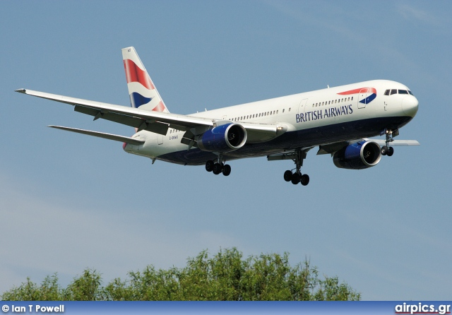G-BNWS, Boeing 767-300ER, British Airways