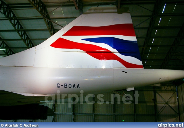 G-BOAA, Aerospatiale-BAC Concorde  102, British Airways
