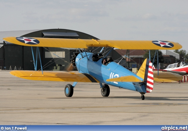 G-BSWC, Boeing-Stearman PT-17 Kaydet, Private