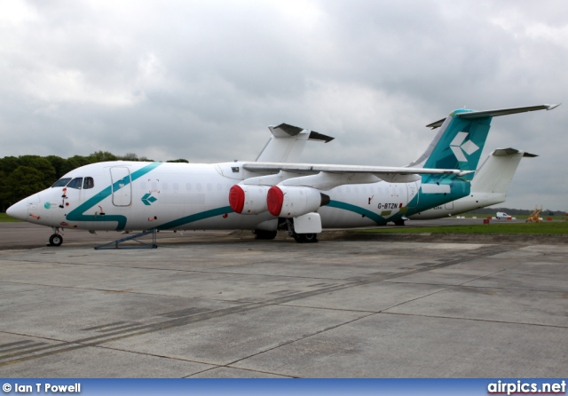G-BTZN, British Aerospace BAe 146-300, Private