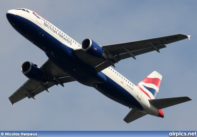 G-BUSK, Airbus A320-200, British Airways