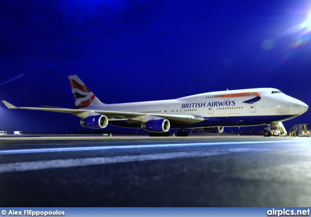 G-BYGB, Boeing 747-400, British Airways