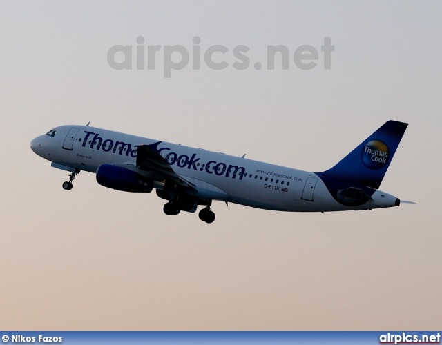 G-BYTH, Airbus A320-200, Thomas Cook Airlines