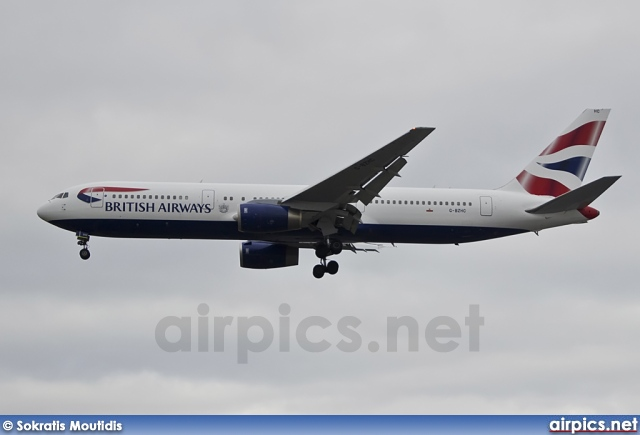 G-BZHC, Boeing 767-300ER, British Airways