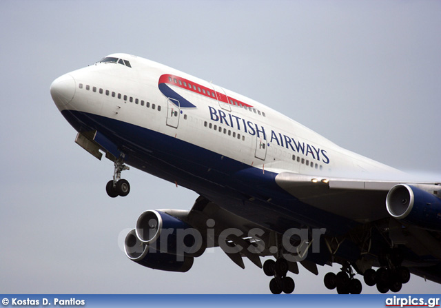 G-CIVN, Boeing 747-400, British Airways