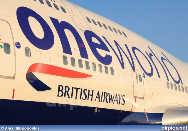 G-CIVZ, Boeing 747-400, British Airways