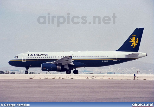 G-CVYE, Airbus A320-200, Caledonian Airways