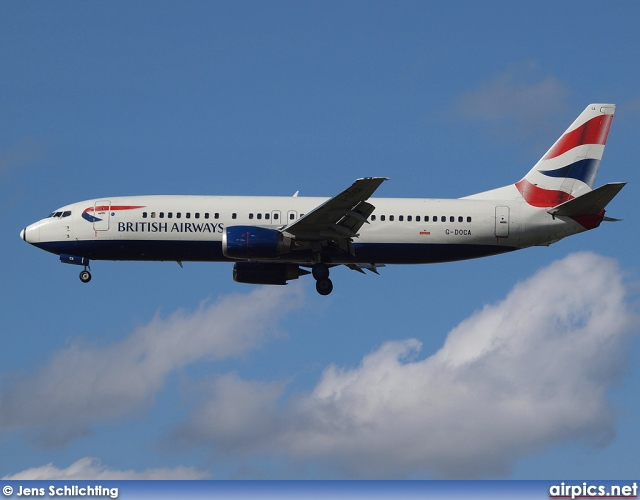 G-DOCA, Boeing 737-400, British Airways