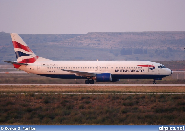 G-DOCN, Boeing 737-400, British Airways