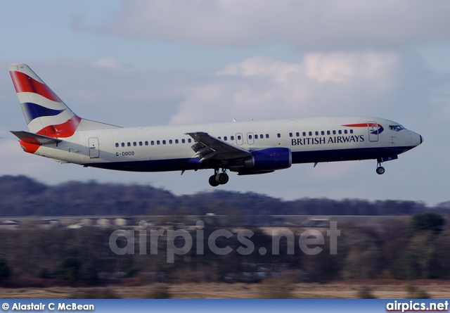 G-DOCO, Boeing 737-400, British Airways