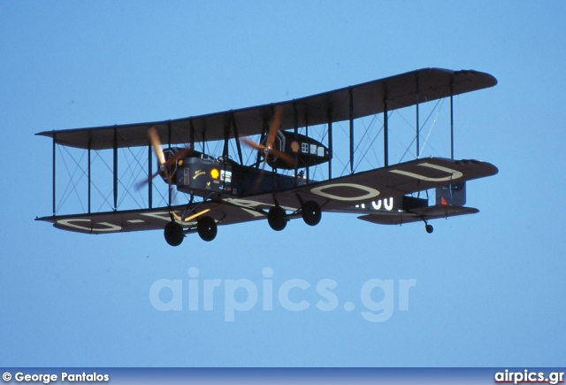 G-EAOU, Vickers FB27 Vimy, Private