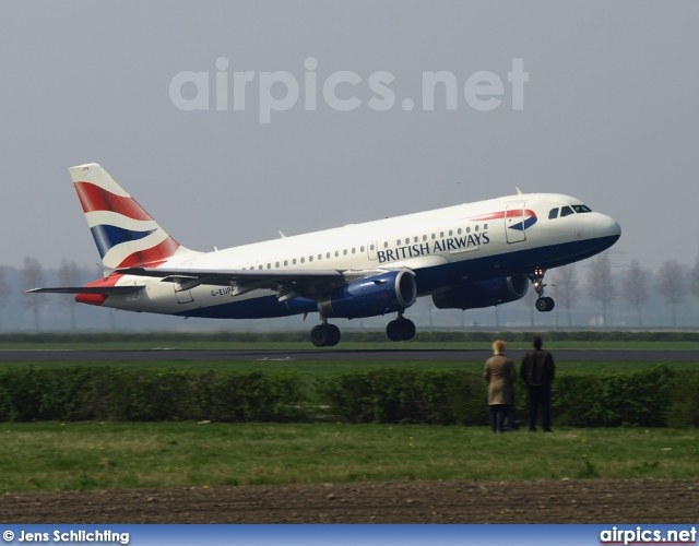 G-EUPE, Airbus A319-100, British Airways