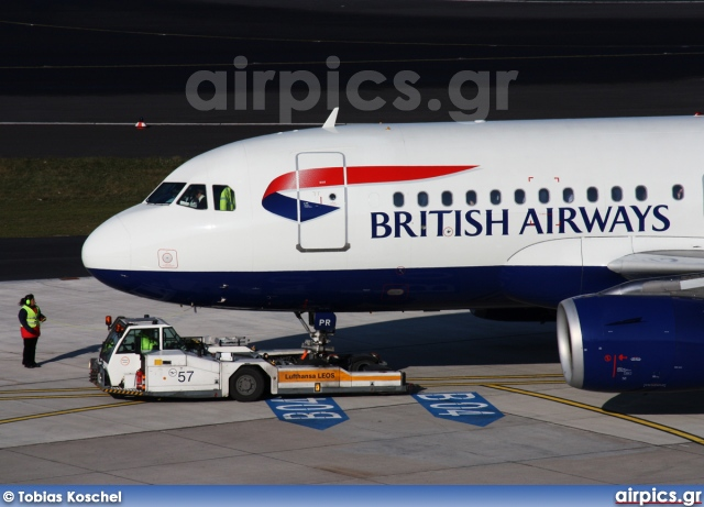 G-EUPR, Airbus A319-100, British Airways