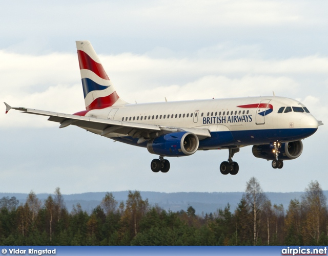 G-EUPS, Airbus A319-100, British Airways