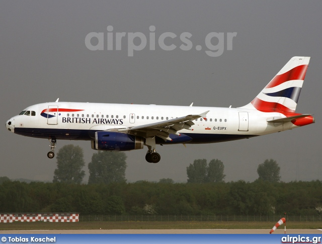 G-EUPX, Airbus A319-100, British Airways