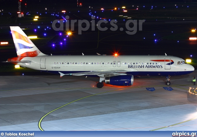 G-EUUV, Airbus A320-200, British Airways