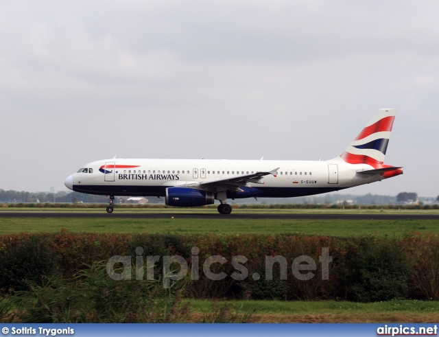 G-EUUW, Airbus A320-200, British Airways