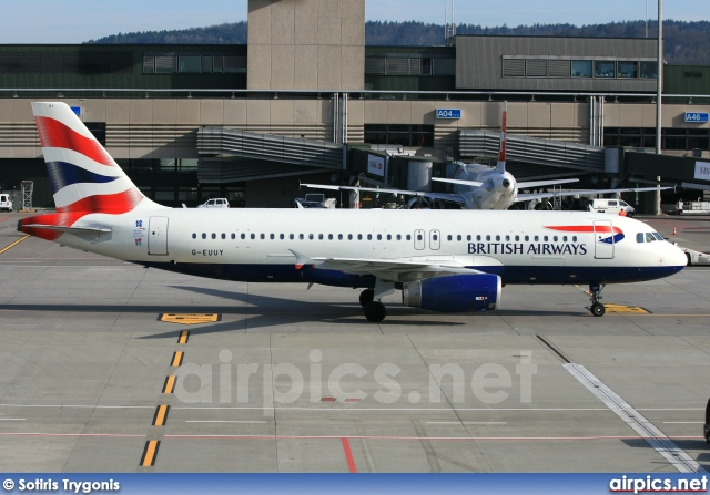 G-EUUY, Airbus A320-200, British Airways