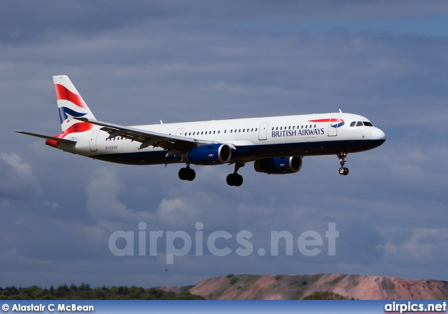 G-EUXF, Airbus A321-200, British Airways