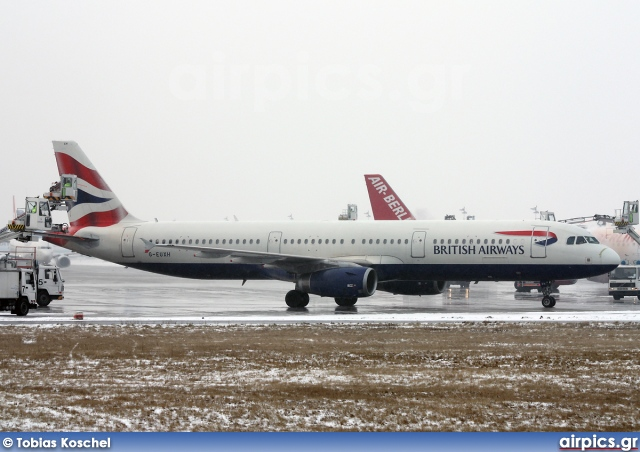 G-EUXH, Airbus A321-200, British Airways