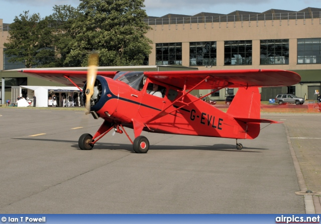 G-EVLE, Rearwin 8125 Cloudster, Private