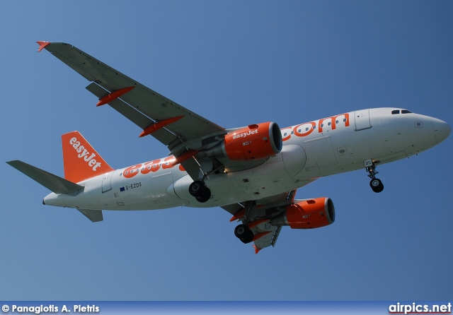 G-EZDS, Airbus A319-100, easyJet