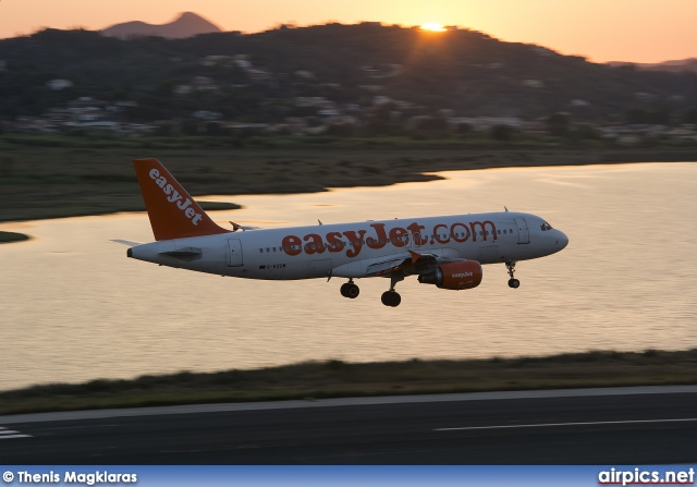 G-EZUW, Airbus A320-200, easyJet