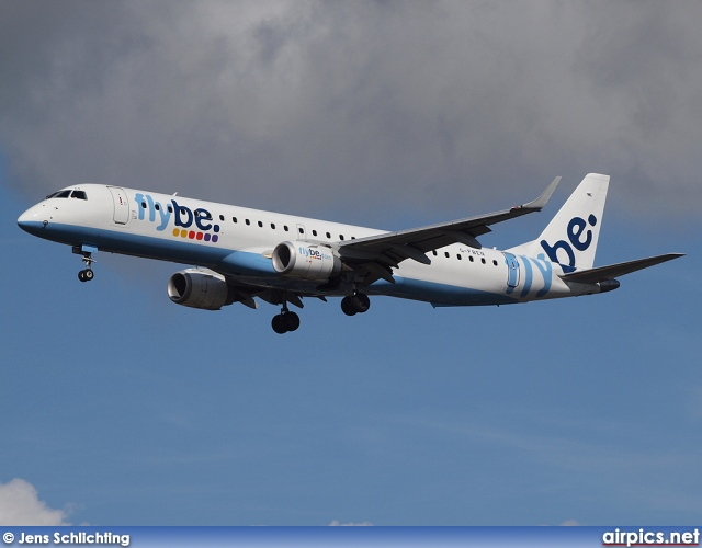 G-FBEN, Embraer ERJ 190-200LR (Embraer 195), flybe.British European