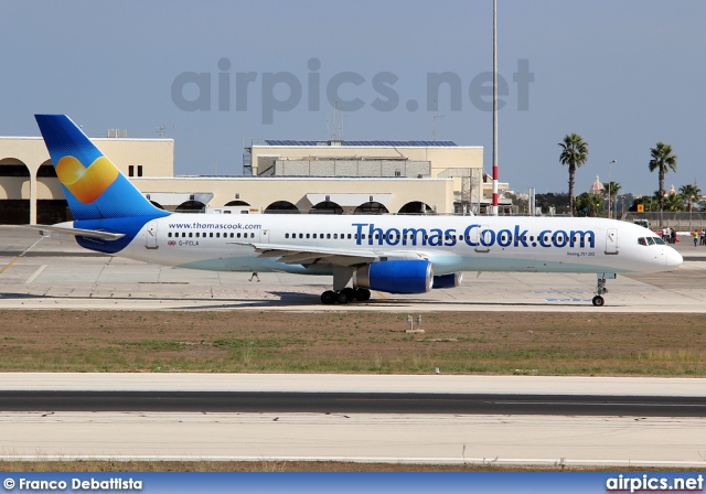 G-FCLA, Boeing 757-200, Thomas Cook Airlines