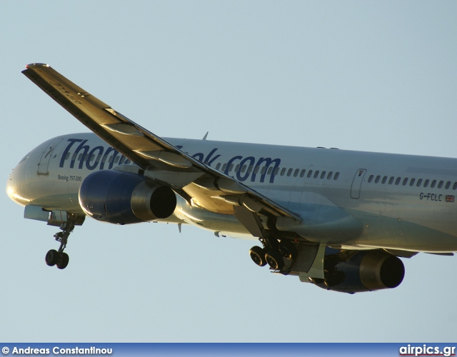G-FCLC, Boeing 757-200, Thomas Cook Airlines