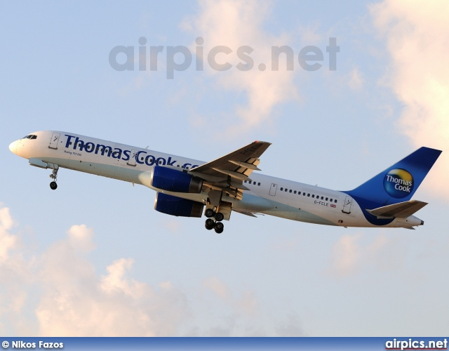 G-FCLE, Boeing 757-200, Thomas Cook Airlines