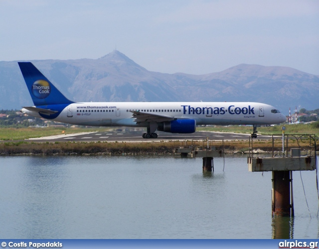 G-FCLG, Boeing 757-200, Thomas Cook Airlines