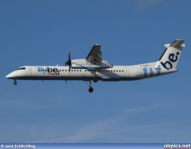 G-FLBF, De Havilland Canada DHC-8-400Q Dash 8, flybe.British European
