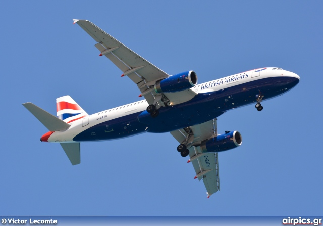 G-GATH, Airbus A320-200, British Airways