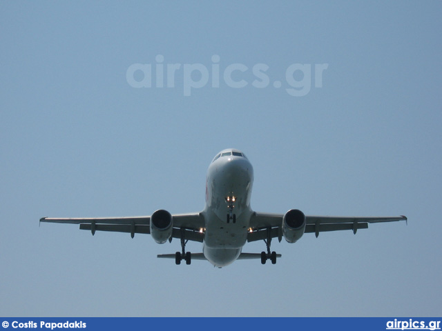 G-GTDL, Airbus A320-200, MyTravel Airways