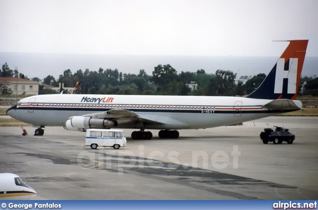 G-HEVY, Boeing 707-300C, Heavy Lift Cargo Airlines
