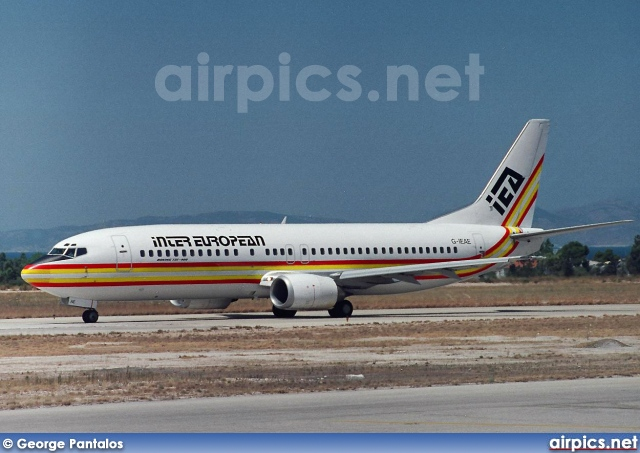 G-IEAE, Boeing 737-400, Inter European Airways