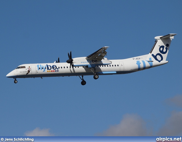 G-JECF, De Havilland Canada DHC-8-400Q Dash 8, flybe.British European