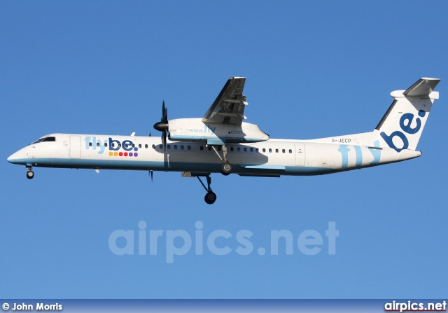 G-JECP, De Havilland Canada DHC-8-400Q Dash 8, flybe.British European